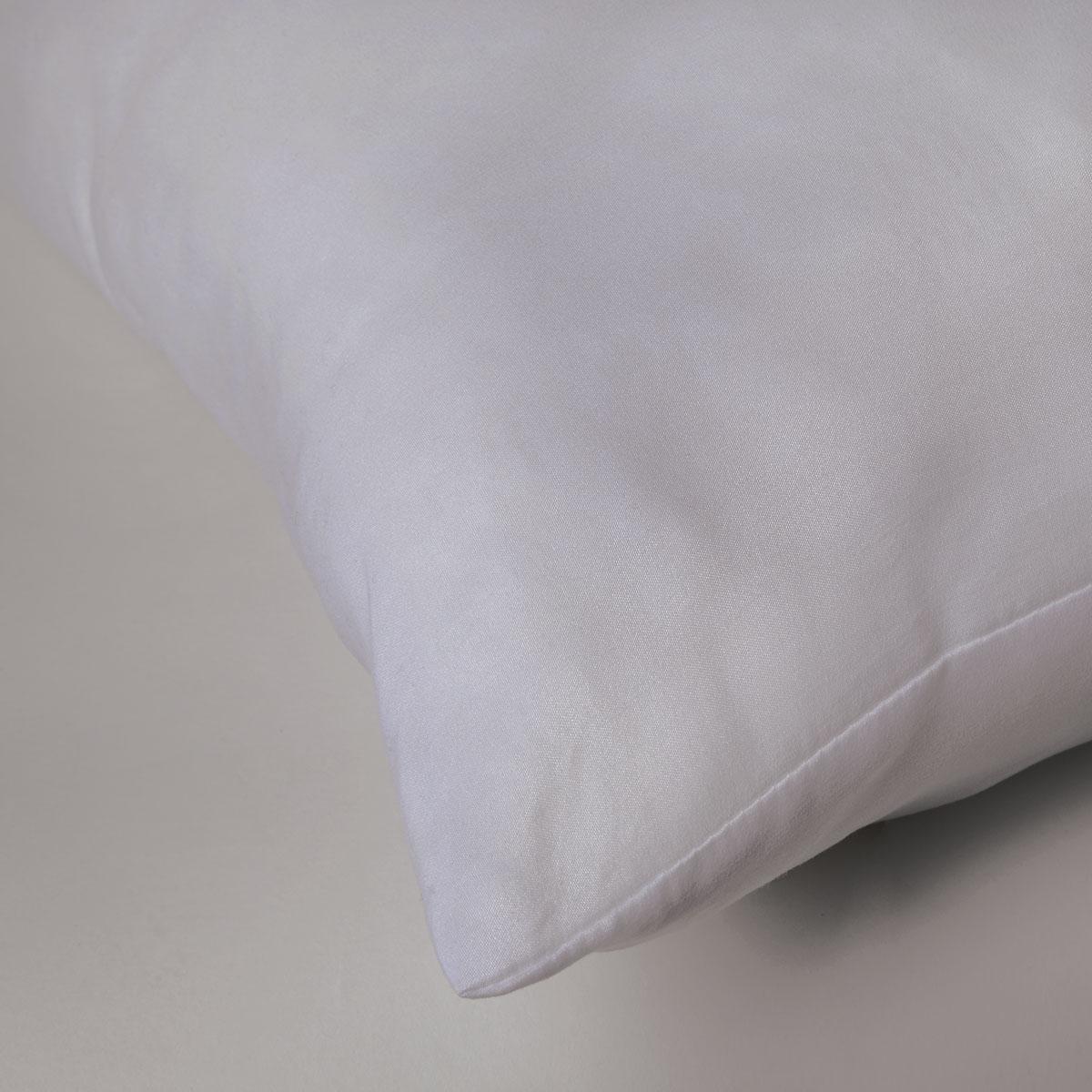 Oreiller Microfibre 500 gr Forme Carrée - Blanc - 65 x 65 cm