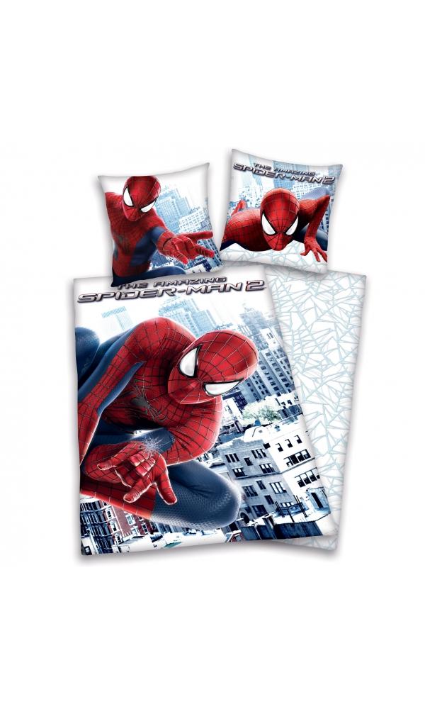 Parure 140 x 200 cm Spiderman 2 The Amazing (Bleu)