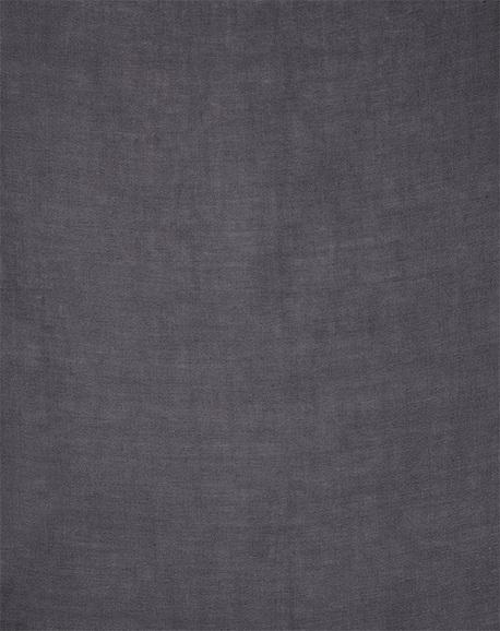 Tissu 100% Lin - Gris Foncé - 2.9 m
