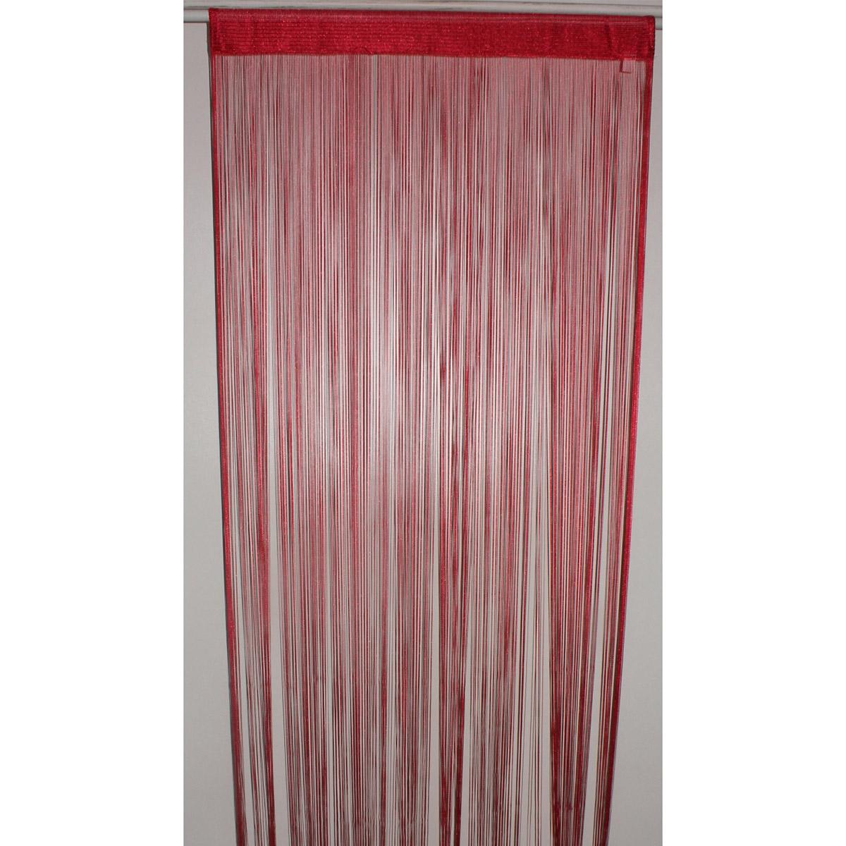 Spaghetti Fertigvorhang (Rote)