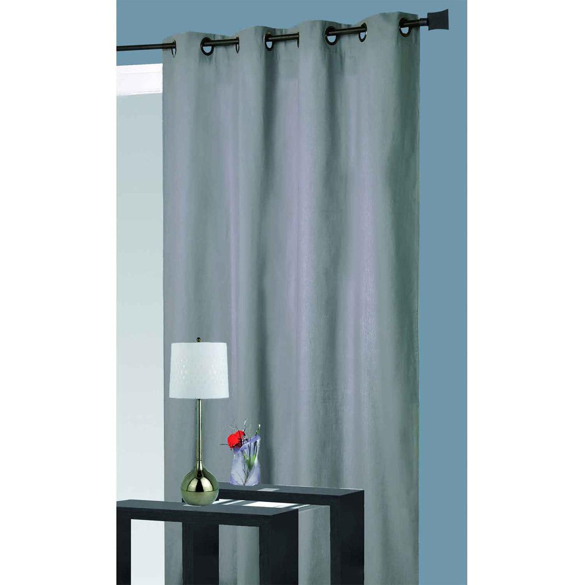 rideau isolant thermique perle p trole noir. Black Bedroom Furniture Sets. Home Design Ideas
