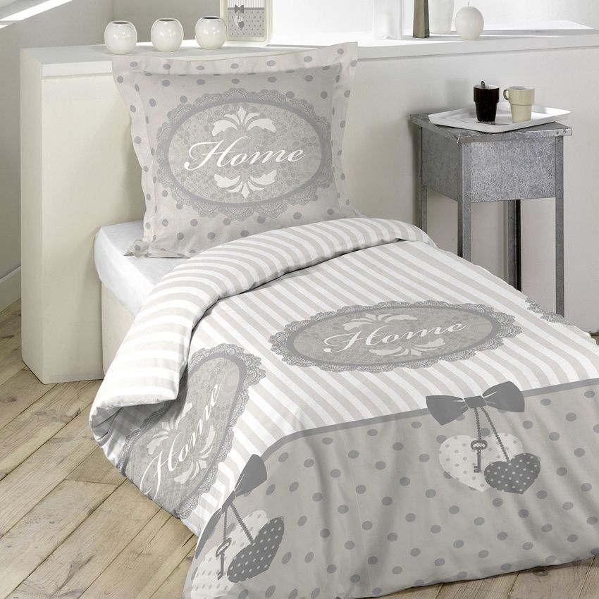 parure de lit home sans homemaison vente en ligne parures de lit. Black Bedroom Furniture Sets. Home Design Ideas