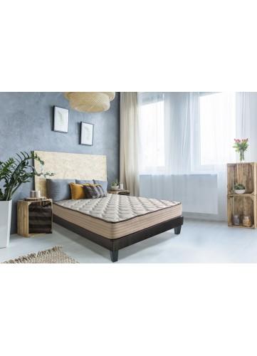 Matelas Standard et Confortable - Blanc - 140 x 190 cm