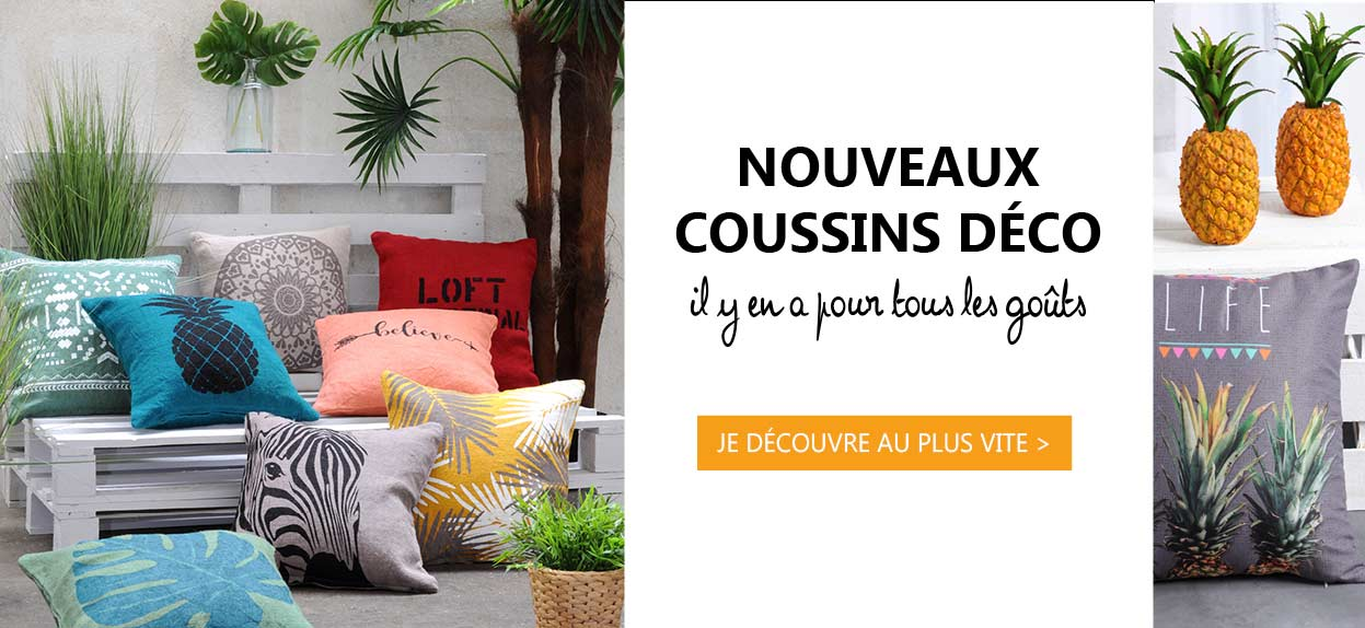 Nouvelle collection Coussin