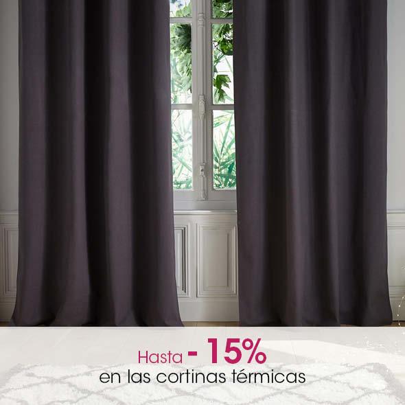 + de cortinas térmicas/fónicas