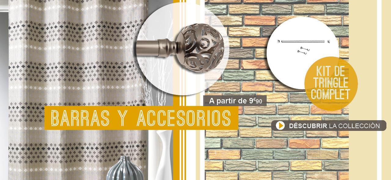 Tringles et accessoires 2015