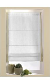 Store Bateau Etamine non doublé ( système corde ) (Blanc)