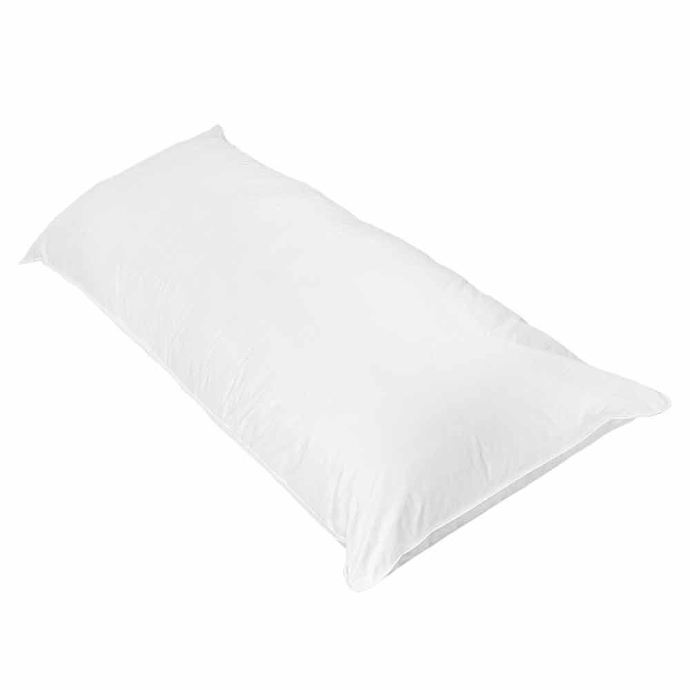 traversin rectangulaire plat blanc homemaison vente en ligne oreillers traversins. Black Bedroom Furniture Sets. Home Design Ideas