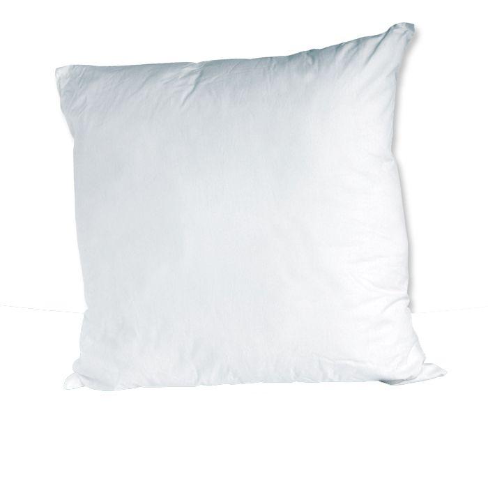 Oreiller à Fibre Creuse Blanche - Blanc - 60 x 60cm