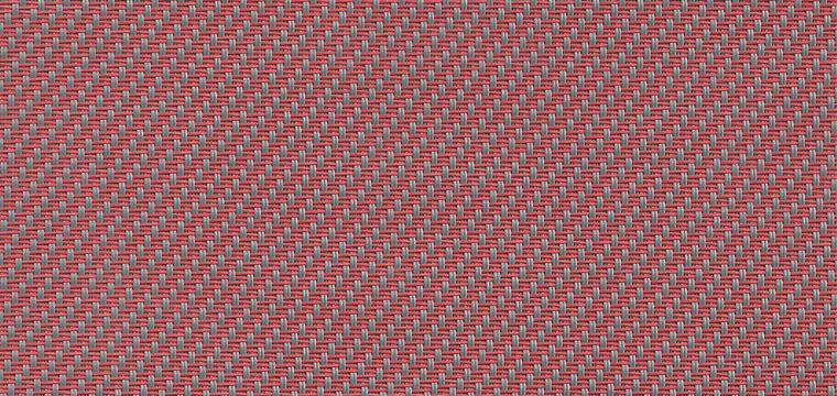 Store Enrouleur Occultant Coloré - Rouge Gris - 100 x 250 cm