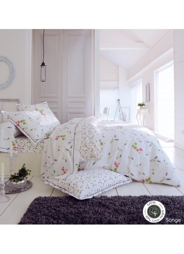 Housse de traversin songe blanc homemaison vente en for Housse traversin