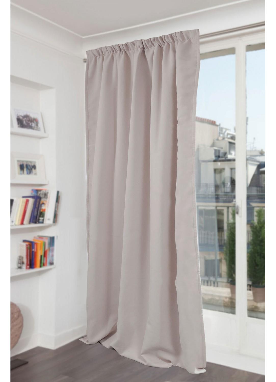 rideau galon fronceur galet m tal p lican noir. Black Bedroom Furniture Sets. Home Design Ideas