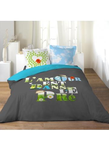 parure 3 p 240x220 l amour est dans le pre homemaison vente en ligne parures de lit. Black Bedroom Furniture Sets. Home Design Ideas