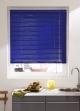 Store Vénitien en Lames de 25 mm en Aluminium Bleu