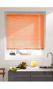 Store Vénitien en Lames de 25 mm en Aluminium (Orange)