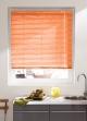 Store Vénitien en Lames de 25 mm en Aluminium Orange